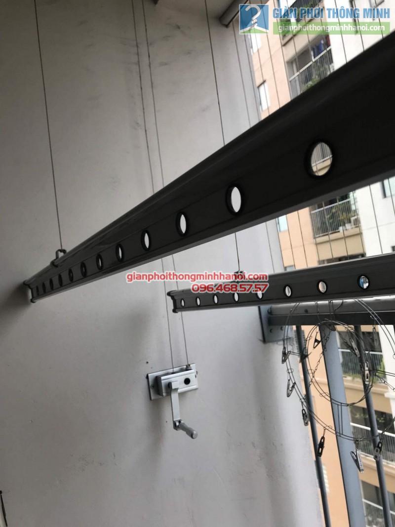 Sửa giàn phơi thông minh nhà chị Tuệ, chung cư Xuân Mai Tower, Hà Đông, Hà Nội - 07