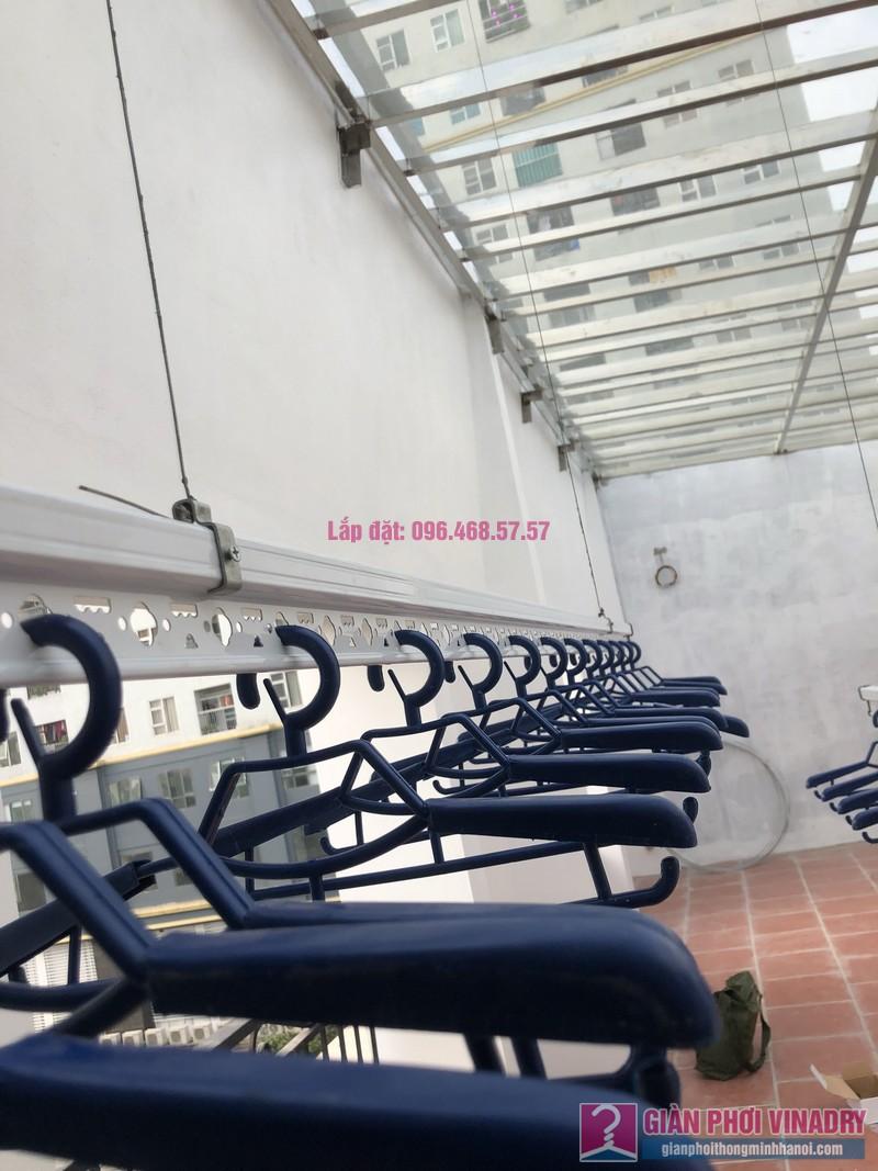 Lắp giàn phơi Hà Đông, nhà chị Thúy, V5B-20 nhà liền kề Victoria Văn Phú - 04