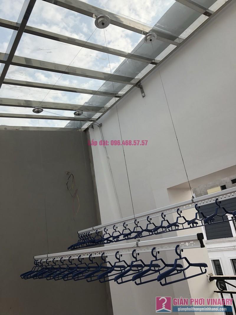 Lắp giàn phơi Hà Đông, nhà chị Thúy, V5B-20 nhà liền kề Victoria Văn Phú - 10