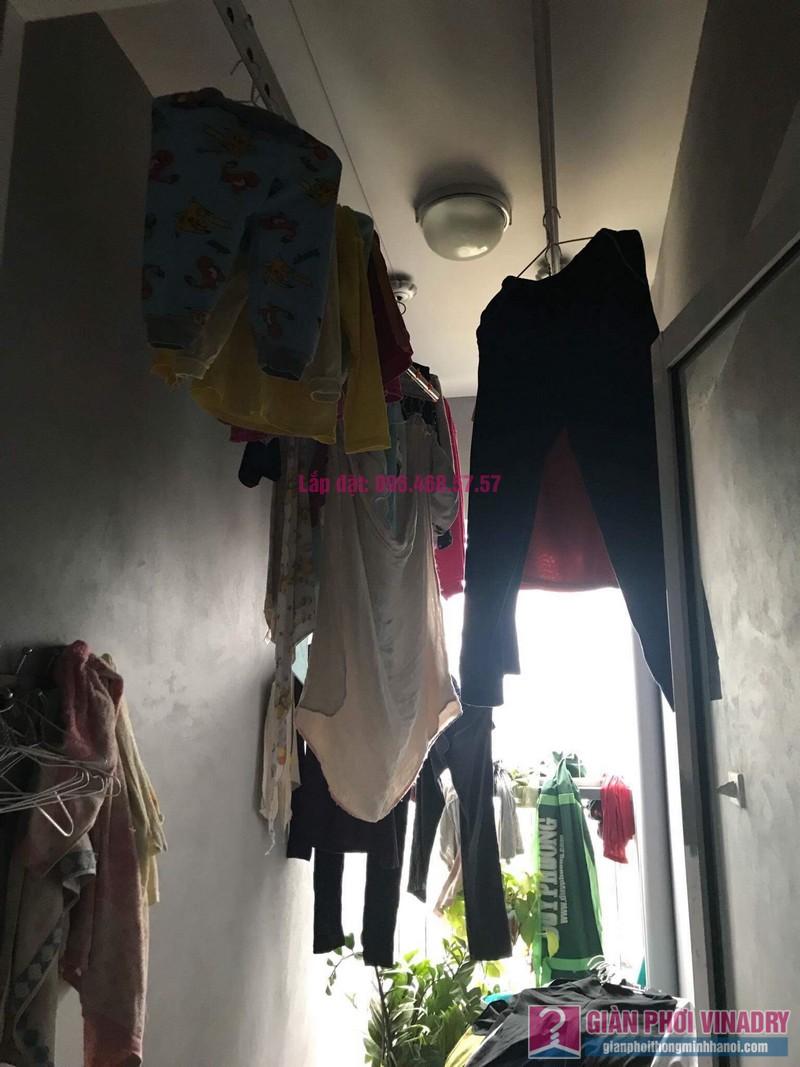 Sửa giàn phơi nhà chị Nhu, chung cư CT5 Tứ Hiệp, Thanh Trì, Hà Nội - 01