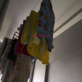 Sửa giàn phơi thông minh nhà chị Nhu, chung cư CT5 Tứ Hiệp, Thanh Trì, Hà Nội