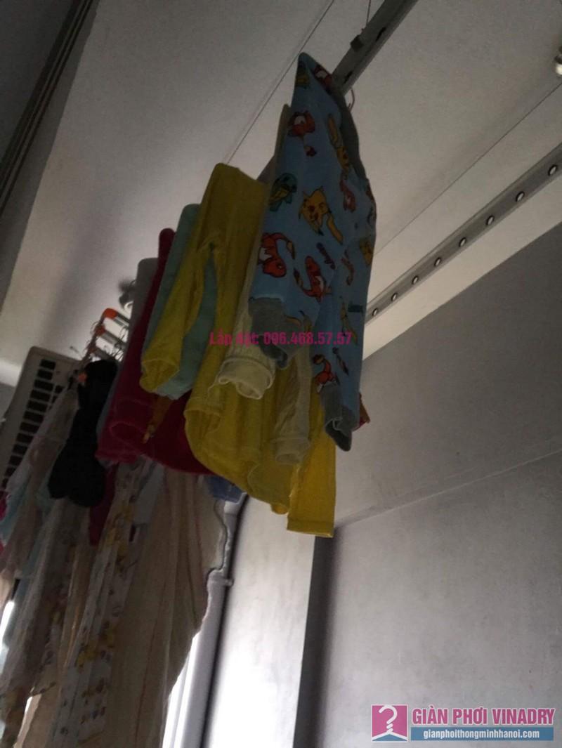 Sửa giàn phơi nhà chị Nhu, chung cư CT5 Tứ Hiệp, Thanh Trì, Hà Nội - 09