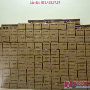 Bán buôn giàn phơi thông minh bấm điện Vinadry AE711 giá gốc