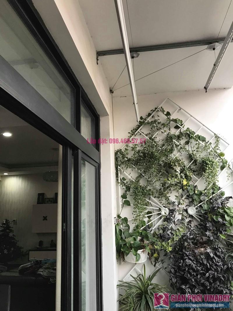 Lắp giàn phơi thông minh 999b nhà chị Hương, Tòa R4 Royal City - 02