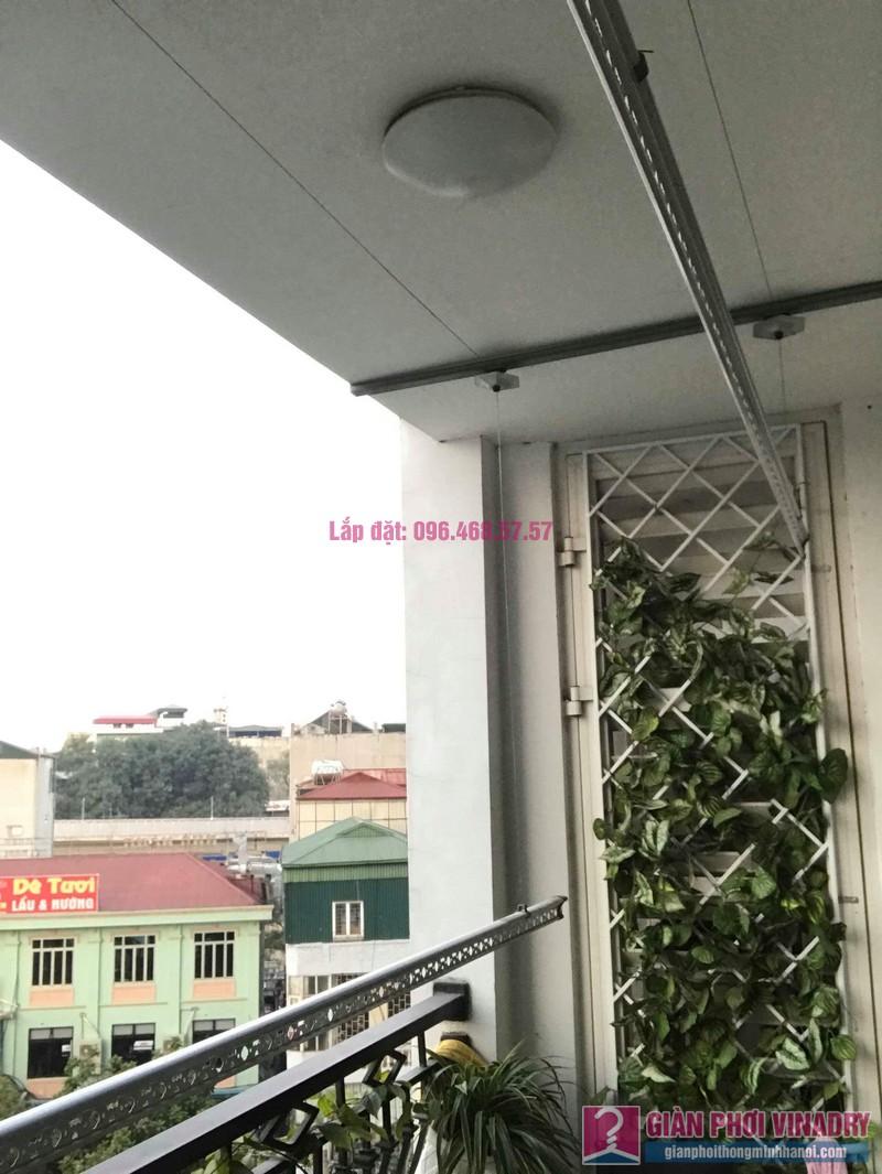 Lắp giàn phơi thông minh 999b nhà chị Hương, Tòa R4 Royal City - 03