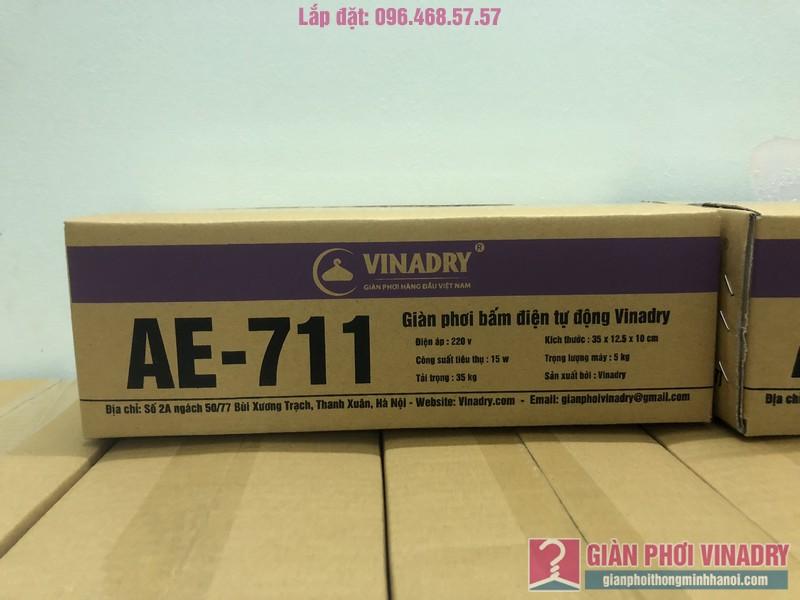 Đổ sỉ giàn phơi bấm điện AE711 giá gốc