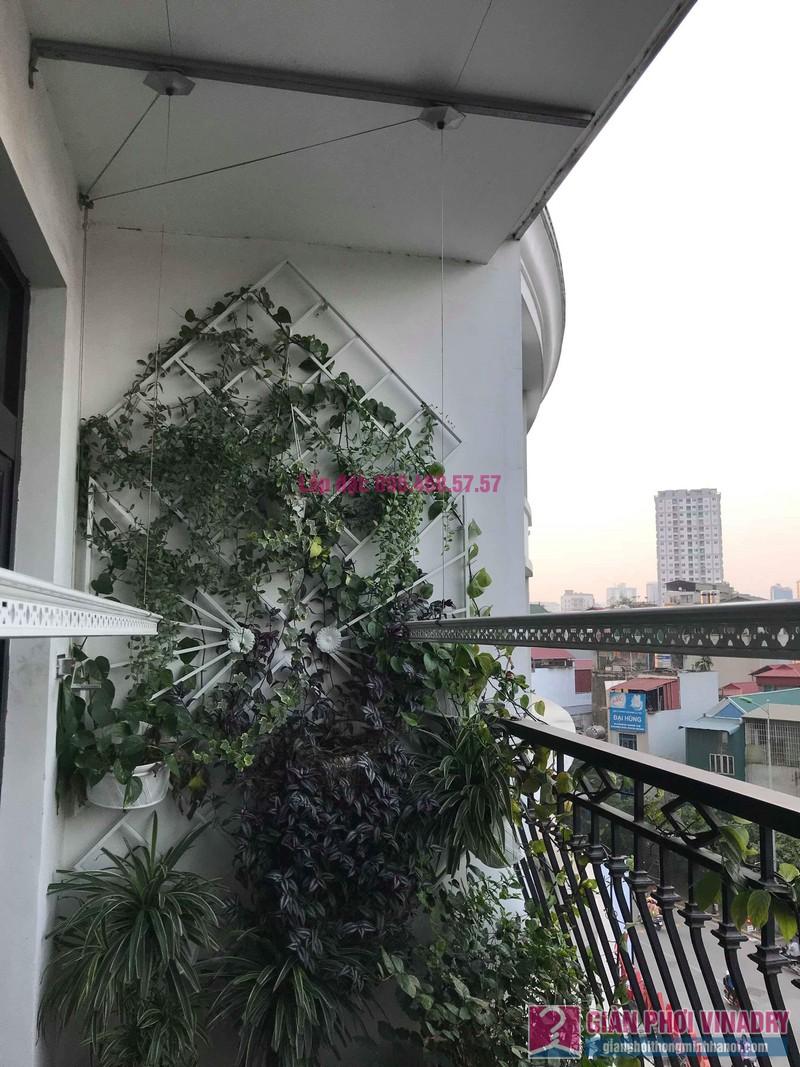 Lắp giàn phơi thông minh 999b nhà chị Hương, Tòa R4 Royal City - 07