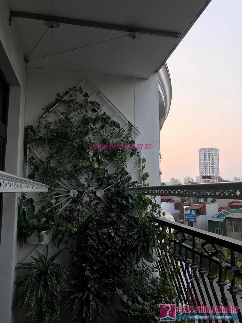 Lắp giàn phơi thông minh 999b nhà chị Hương, Tòa R4 Royal City - 08