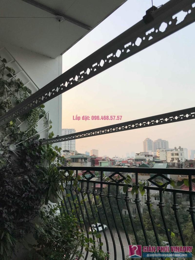 Lắp giàn phơi thông minh 999b nhà chị Hương, Tòa R4 Royal City - 09