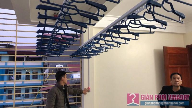 Lắp giàn phơi bấm điện Vinadry nhà chị Hằng, Lệ Chi, Gia Lâm, Hà Nội - 09