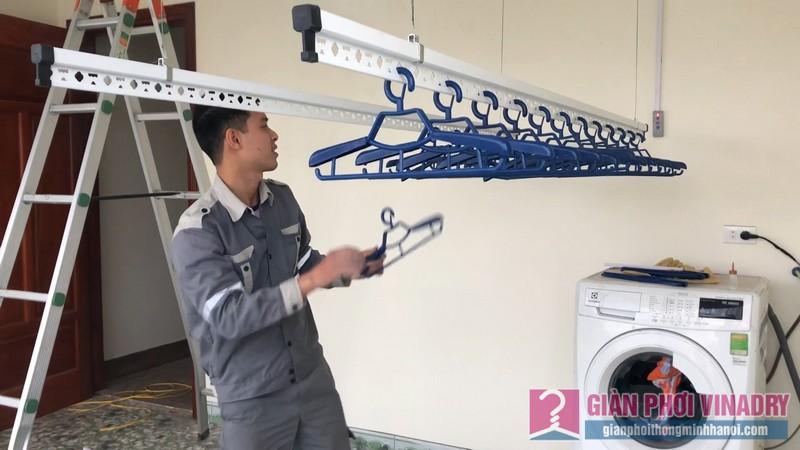 Lắp giàn phơi bấm điện Vinadry nhà chị Hằng, Lệ Chi, Gia Lâm, Hà Nội - 06