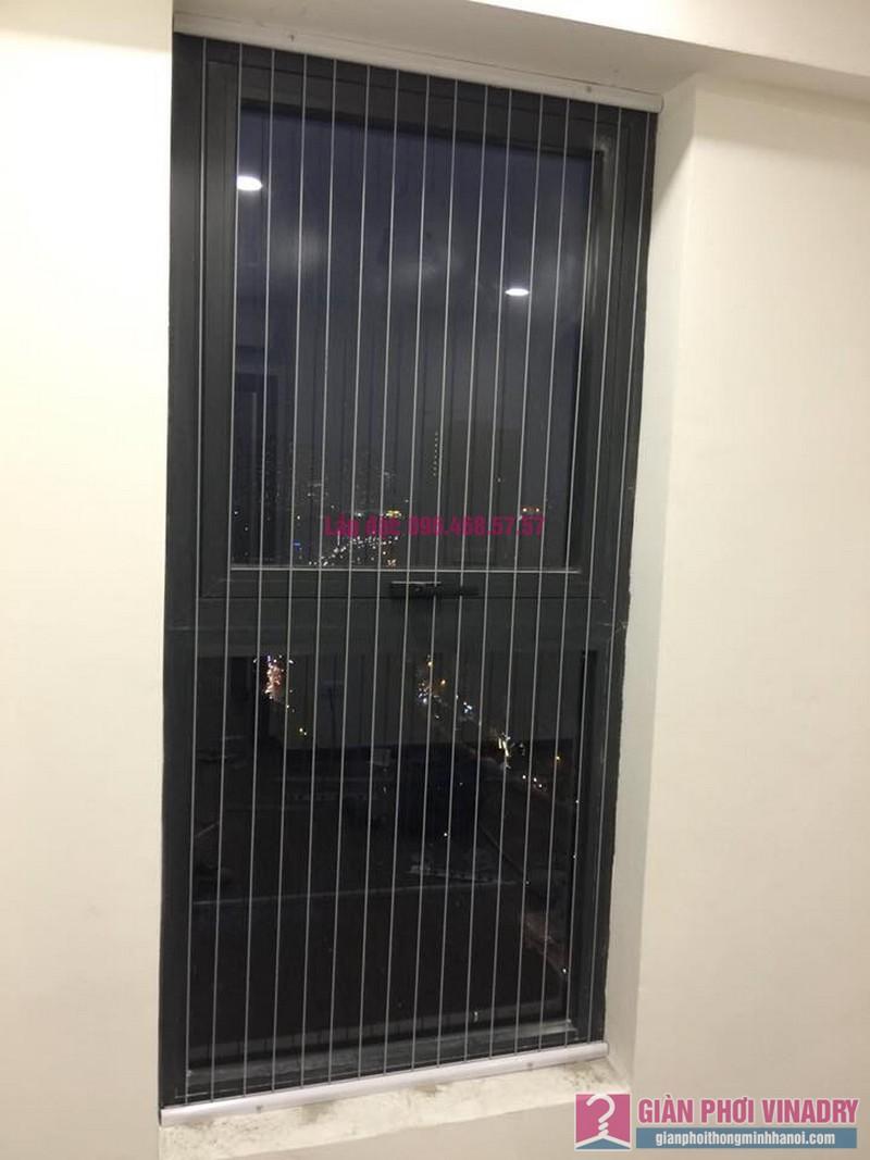 Lắp lưới an toàn cửa sổ cho nhà anh Vui, chung cư Five Star số 2 Kim Giang, Thanh Xuân, Hà Nội - 03