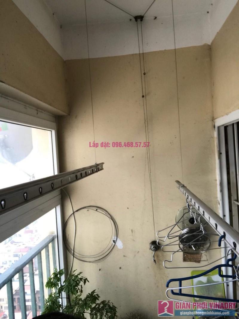Sửa chữa giàn phơi thông minh nhà chị Duyên, Chung cư CT2, KĐT Văn Khê, Hà Đông - 05
