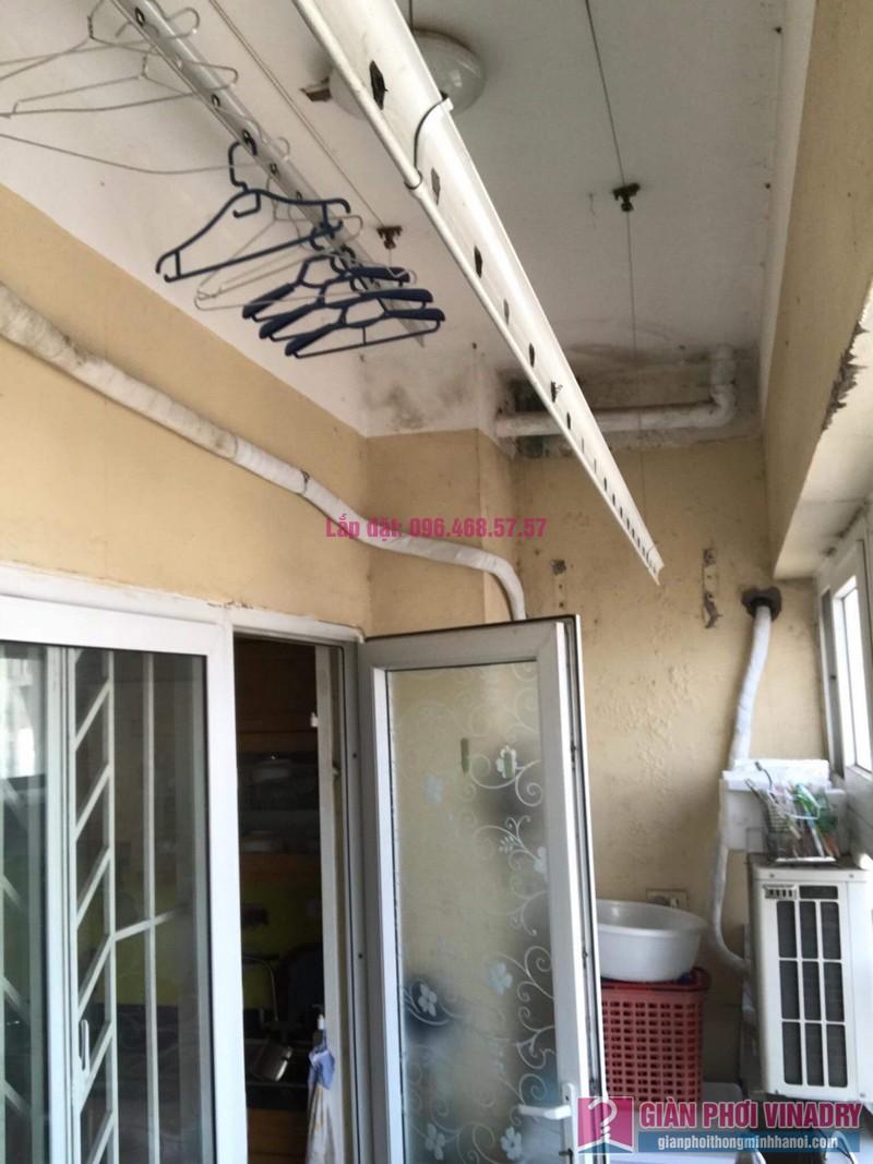 Sửa chữa giàn phơi thông minh nhà chị Duyên, Chung cư CT2, KĐT Văn Khê, Hà Đông - 09