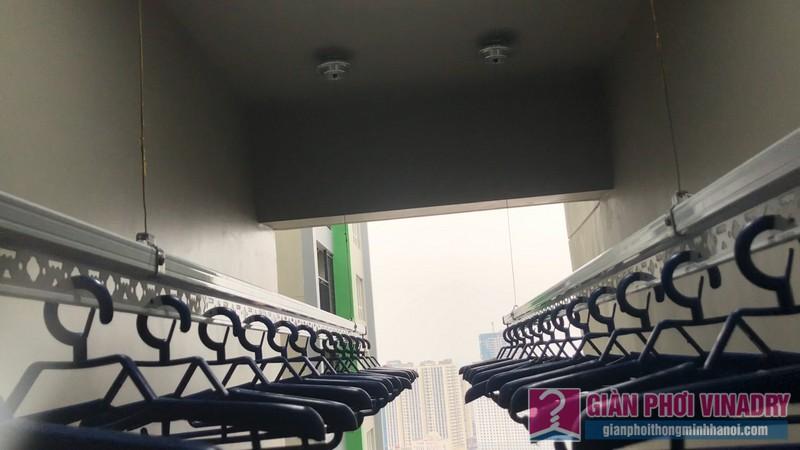Lắp giàn phơi nhà chị Quỳnh, Tòa S1, chung cư Seasons Avenue, Mỗ Lao, Hà Đông - 11