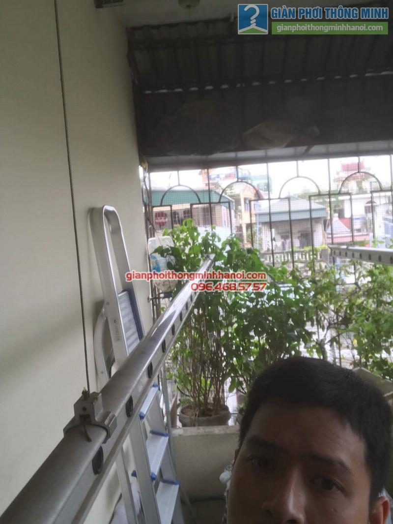 Sửa giàn phơi thông minh nhà chị Bình, Bạch Đằng, Hai Bà trưng, Hà Nội - 02