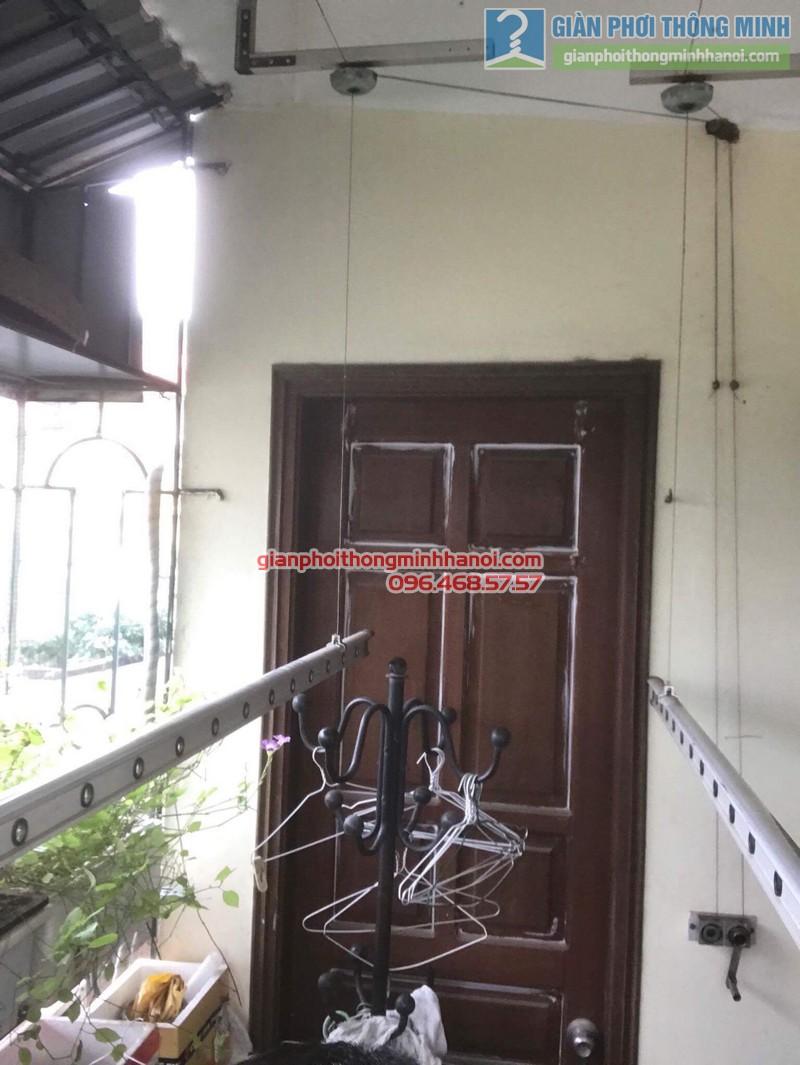 Sửa giàn phơi thông minh nhà chị Bình, Bạch Đằng, Hai Bà trưng, Hà Nội - 03