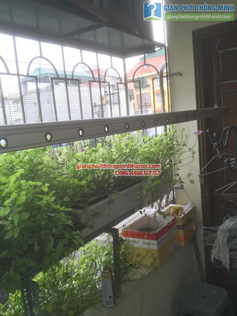 Sửa giàn phơi thông minh nhà chị Bình, Bạch Đằng, Hai Bà trưng, Hà Nội - 04