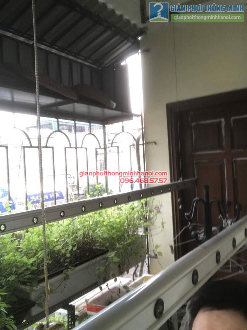 Sửa giàn phơi thông minh nhà chị Bình, Bạch Đằng, Hai Bà trưng, Hà Nội - 05