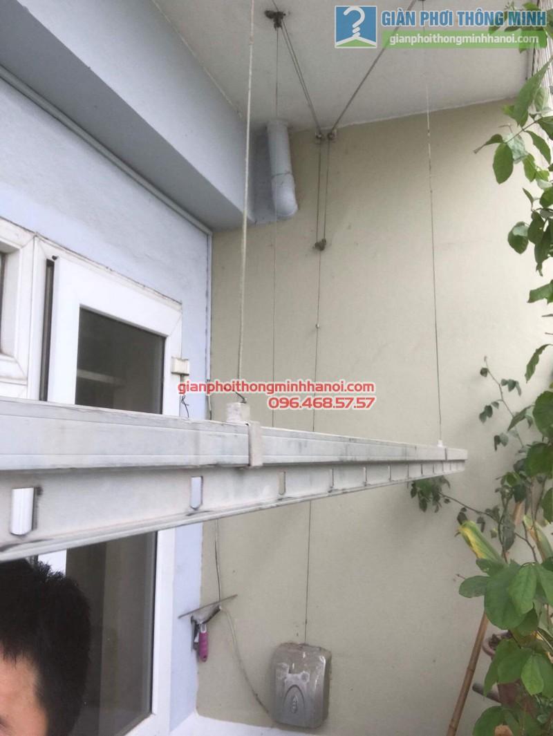 Sửa giàn phơi điện tự động nhà chị Ngoan, KĐT Đại Kim, Hoàng Mai, Hà Nội - 01
