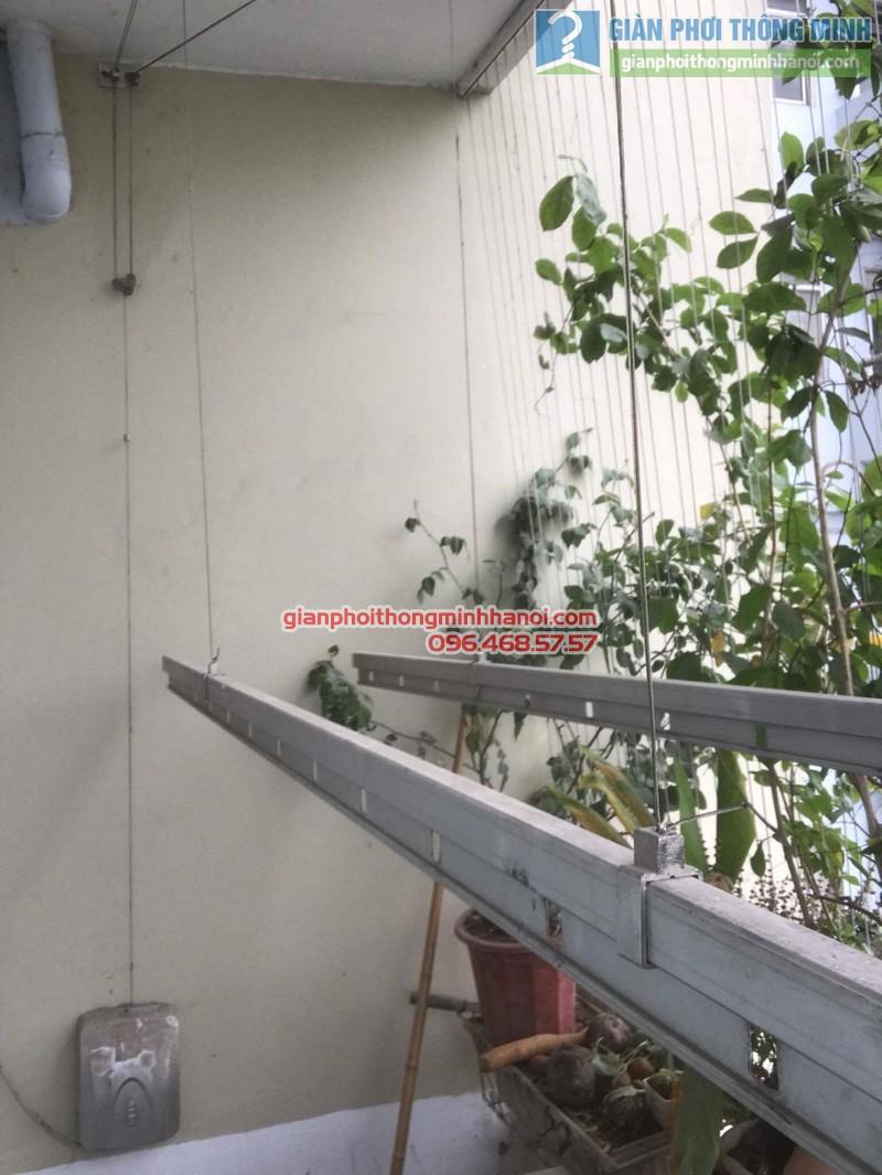 Sửa giàn phơi điện tự động nhà chị Ngoan, KĐT Đại Kim, Hoàng Mai, Hà Nội - 02