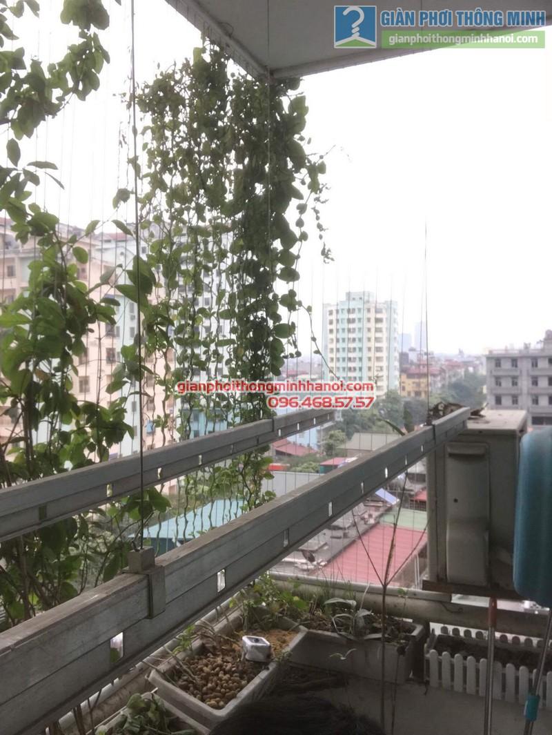 Sửa giàn phơi điện tự động nhà chị Ngoan, KĐT Đại Kim, Hoàng Mai, Hà Nội - 03