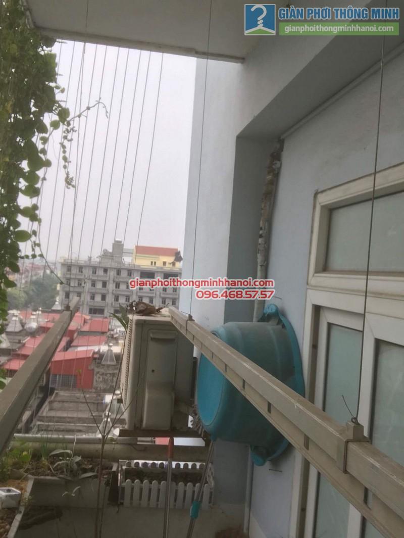 Sửa giàn phơi điện tự động nhà chị Ngoan, KĐT Đại Kim, Hoàng Mai, Hà Nội - 04