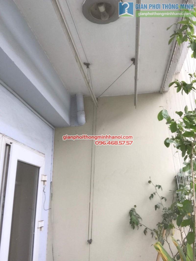 Sửa giàn phơi điện tự động nhà chị Ngoan, KĐT Đại Kim, Hoàng Mai, Hà Nội - 07