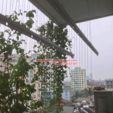 Sửa giàn phơi điện tự động nhà chị Ngoan, Nhà A5, KĐT Đại Kim, Hoàng Mai, Hà Nội