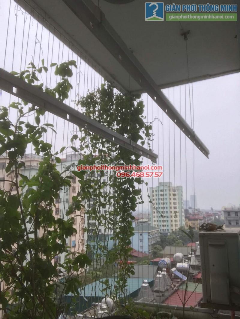 Sửa giàn phơi điện tự động nhà chị Ngoan, KĐT Đại Kim, Hoàng Mai, Hà Nội - 09
