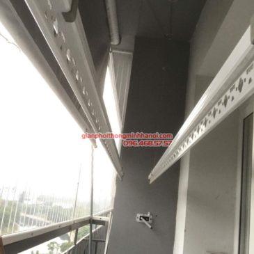 Sửa giàn phơi giá rẻ nhà anh Hiệu, chung cư A5, KĐT Đại Kim, Hoàng Mai, Hà Nội
