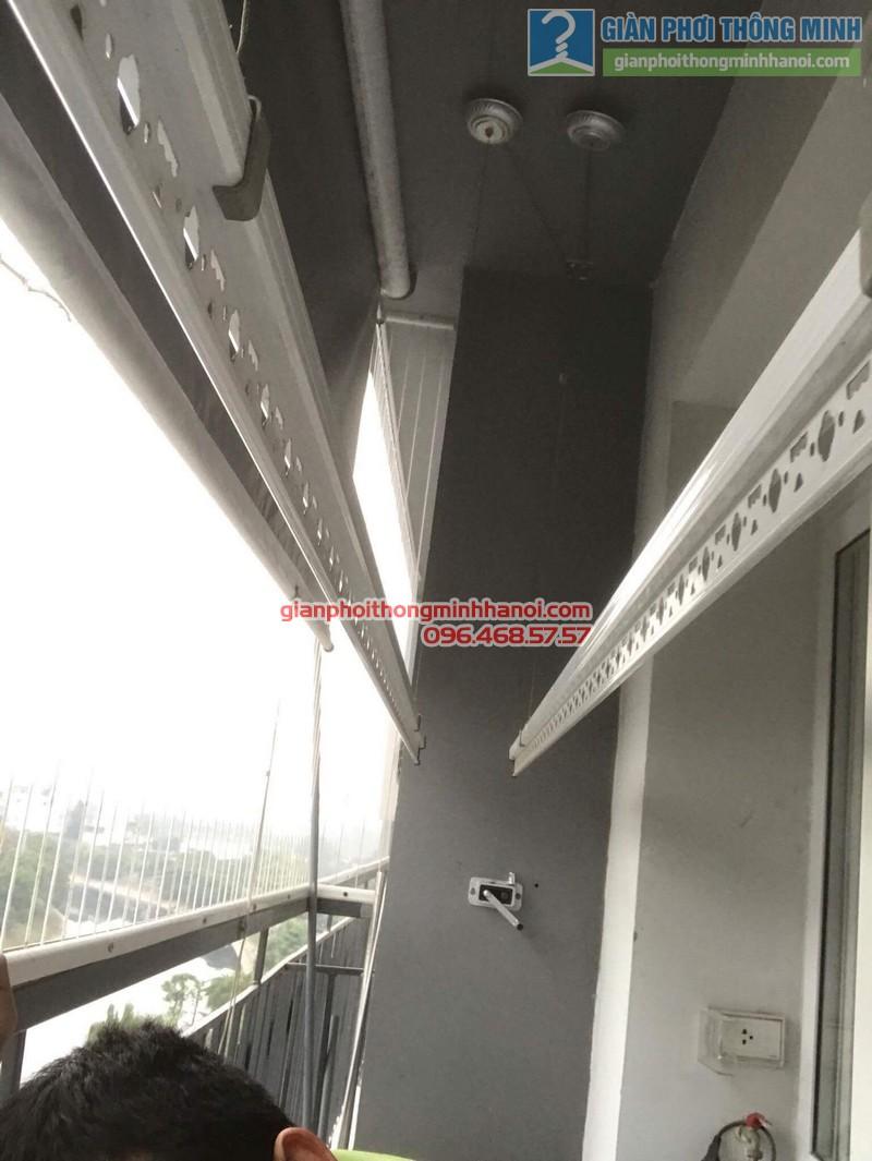Sửa giàn phơi giá rẻ nhà anh Hiệu, chung cư A5, KĐT Đại Kim, Hoàng Mai, Hà Nội - 01