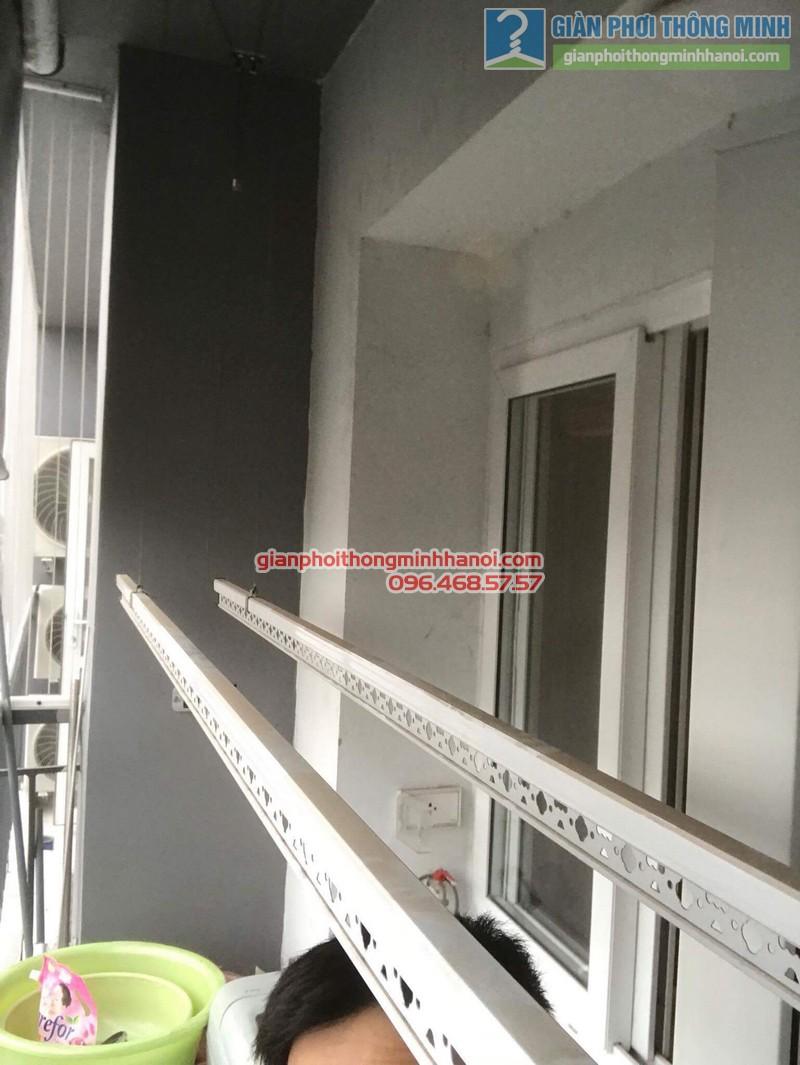 Sửa giàn phơi giá rẻ nhà anh Hiệu, chung cư A5, KĐT Đại Kim, Hoàng Mai, Hà Nội - 02