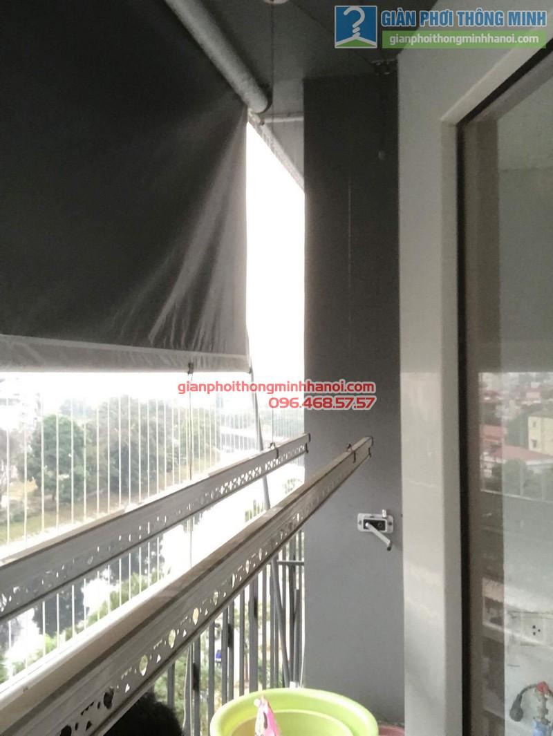 Sửa giàn phơi giá rẻ nhà anh Hiệu, chung cư A5, KĐT Đại Kim, Hoàng Mai, Hà Nội - 03