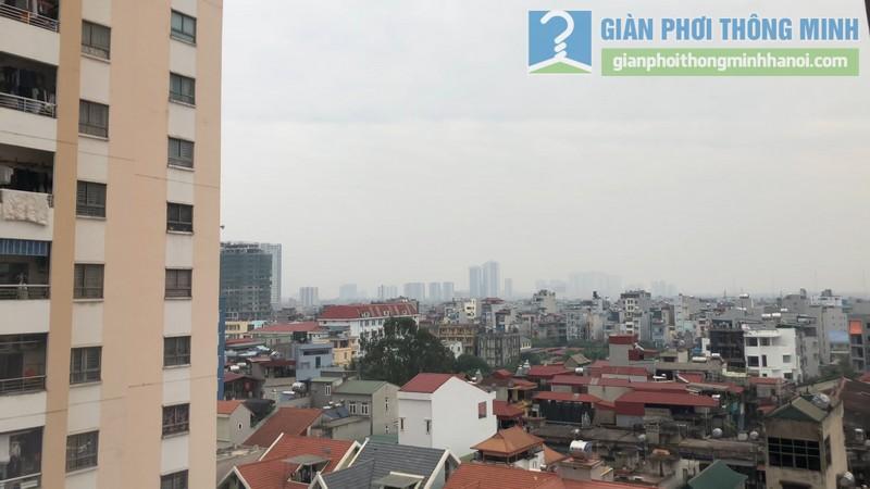 Góc nhìn không gian tuyệt đẹp từ ban công nhà chị Minh
