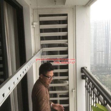 Sửa giàn phơi thông minh nhà anh Thao, Tòa T2, Times City, Hai Bà Trưng, Hà Nội