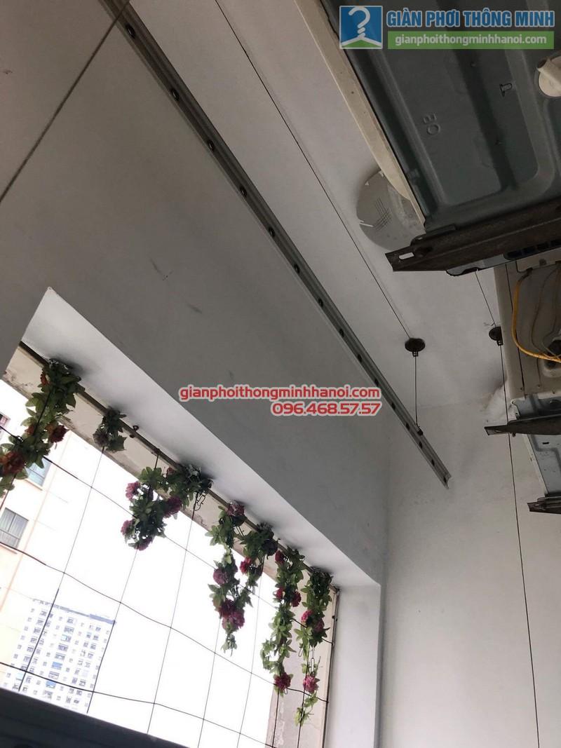 Sửa giàn phơi quần áo nhà chị Minh, kđt Xala, Hà Đông, Hà Nội - 01