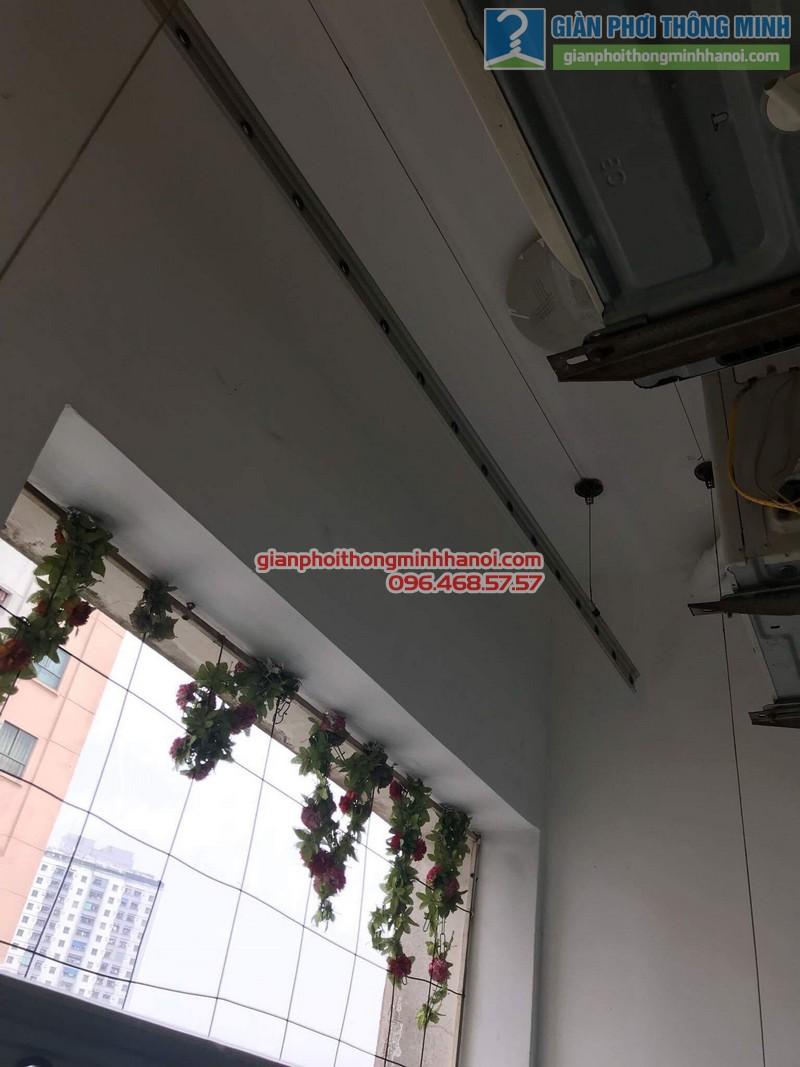 Sửa giàn phơi quần áo nhà chị Minh, kđt Xala, Hà Đông, Hà Nội - 03