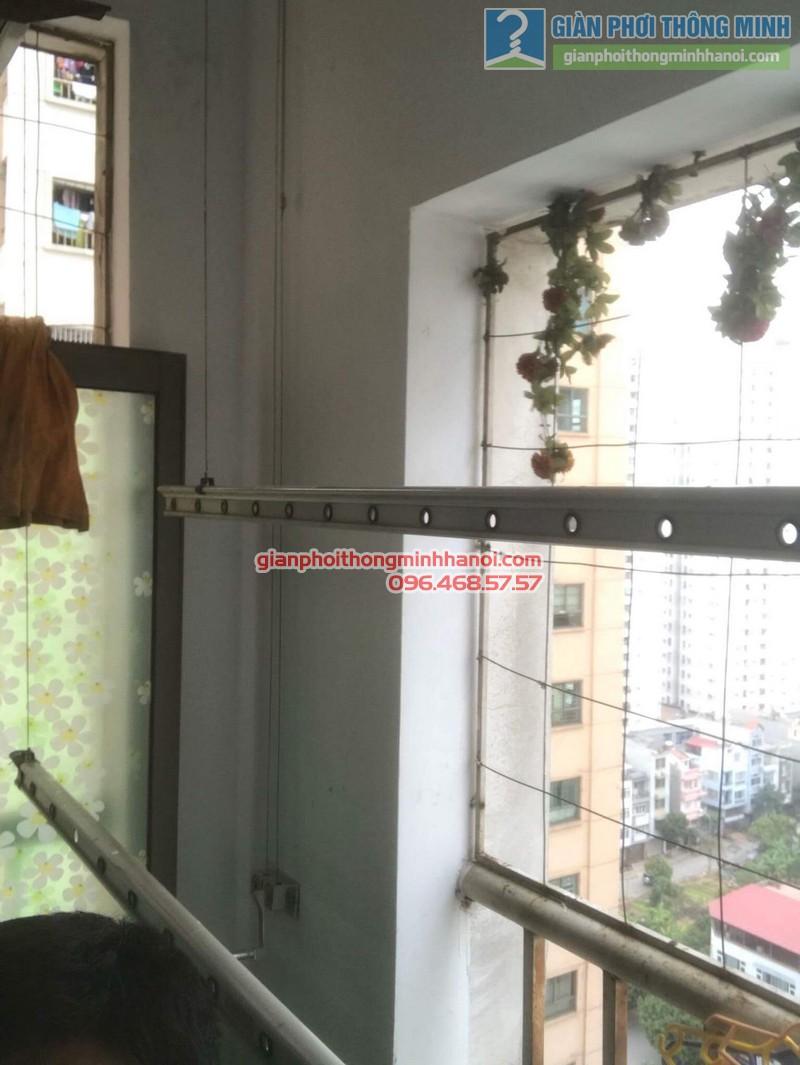 Sửa giàn phơi quần áo nhà chị Minh, kđt Xala, Hà Đông, Hà Nội - 06