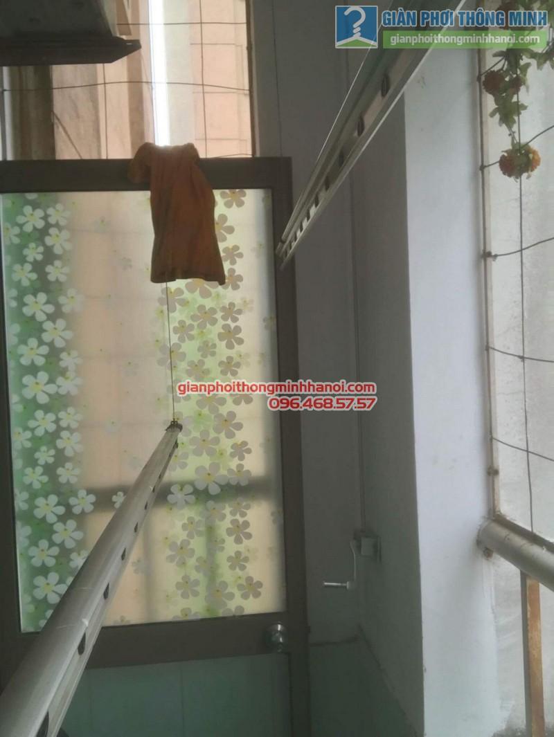 Sửa giàn phơi quần áo nhà chị Minh, kđt Xala, Hà Đông, Hà Nội - 07