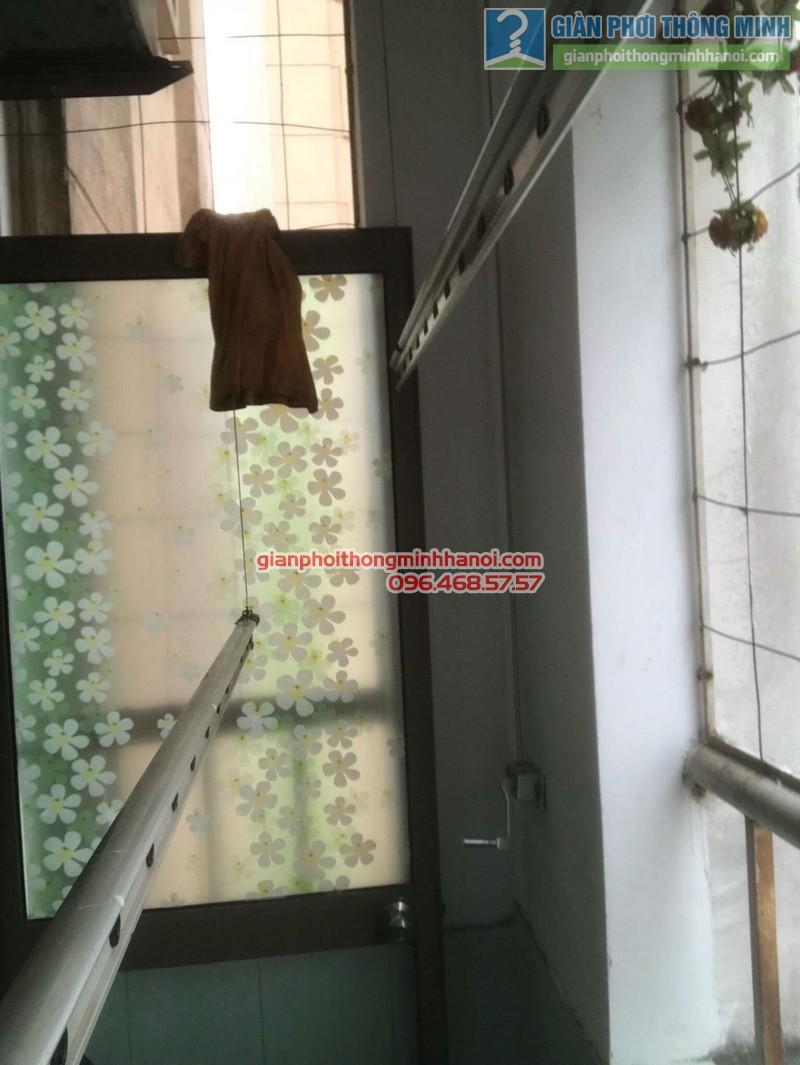 Sửa giàn phơi quần áo nhà chị Minh, kđt Xala, Hà Đông, Hà Nội - 09