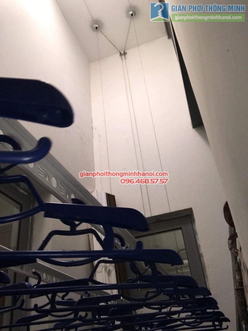 Lắp giàn phơi thông minh Hòa Phát 999B nhà chị Yến, Park 12, Park Hill, Times City - 06