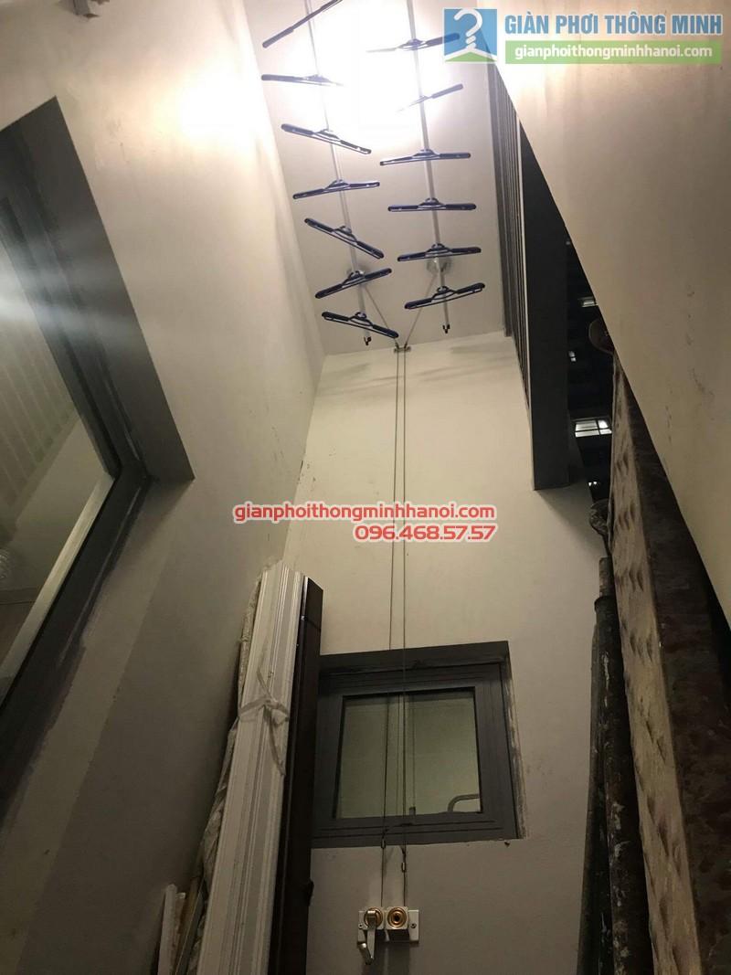 Lắp giàn phơi thông minh Hòa Phát 999B nhà chị Yến, Park 12, Park Hill, Times City - 08