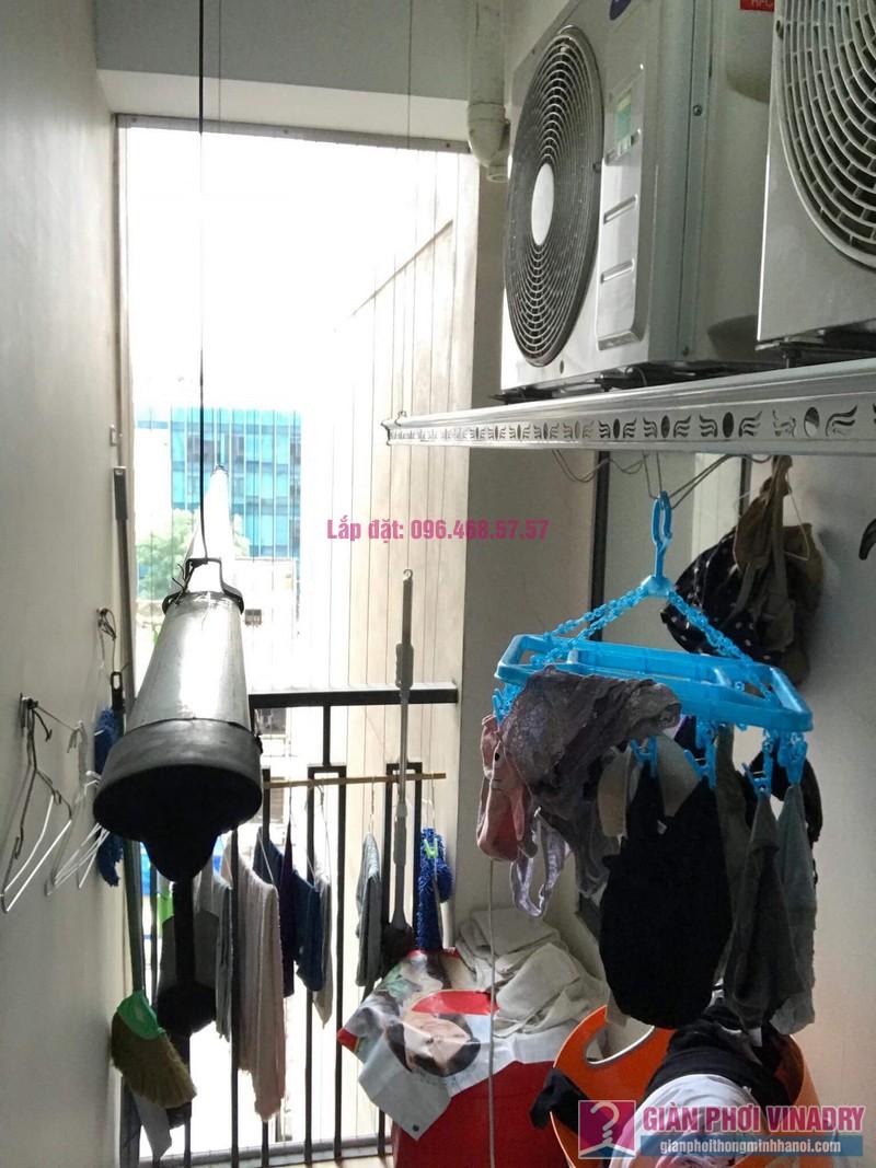 Sửa giàn phơi nhà cô Minh, chung cư Platinum Residences, số 6 Nguyễn Công Hoan, Ba Đình, Hà Nội - 02