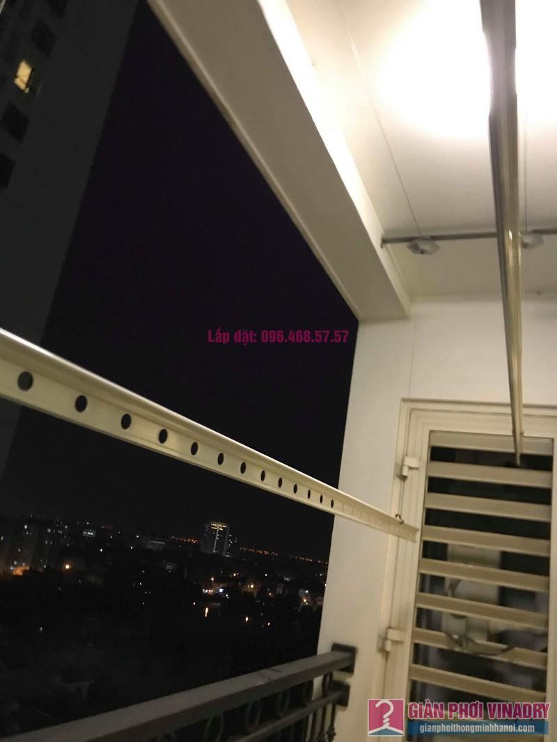 Thay dây cáp giàn phơi nhà chị Vy, tòa T9, Times City - 03