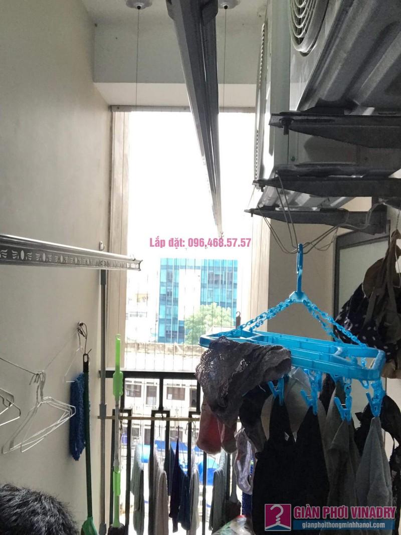 Sửa giàn phơi nhà cô Minh, chung cư Platinum Residences, số 6 Nguyễn Công Hoan, Ba Đình, Hà Nội - 03