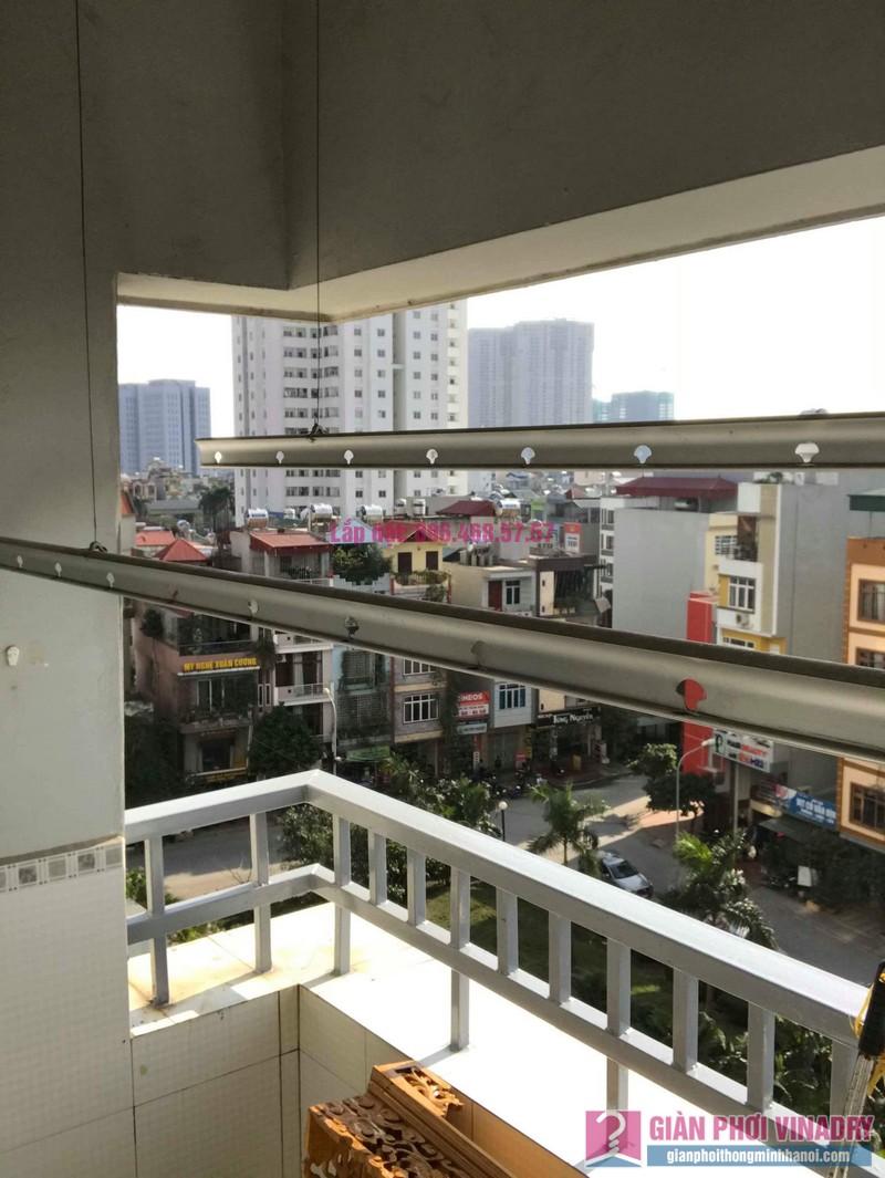Sửa giàn phơi thông minh nhà Chị Nhâm, chung cư CT2 Ngô Thì Nhậm, Hà Đông, Hà Nội - 03