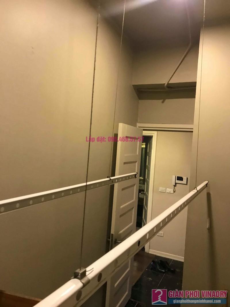 Sửa chữa giàn phơi thông minh nhà anh Vinh, chung cư N04 Hoàng Đạo Thúy, Cầu giấy, Hà Nội - 03