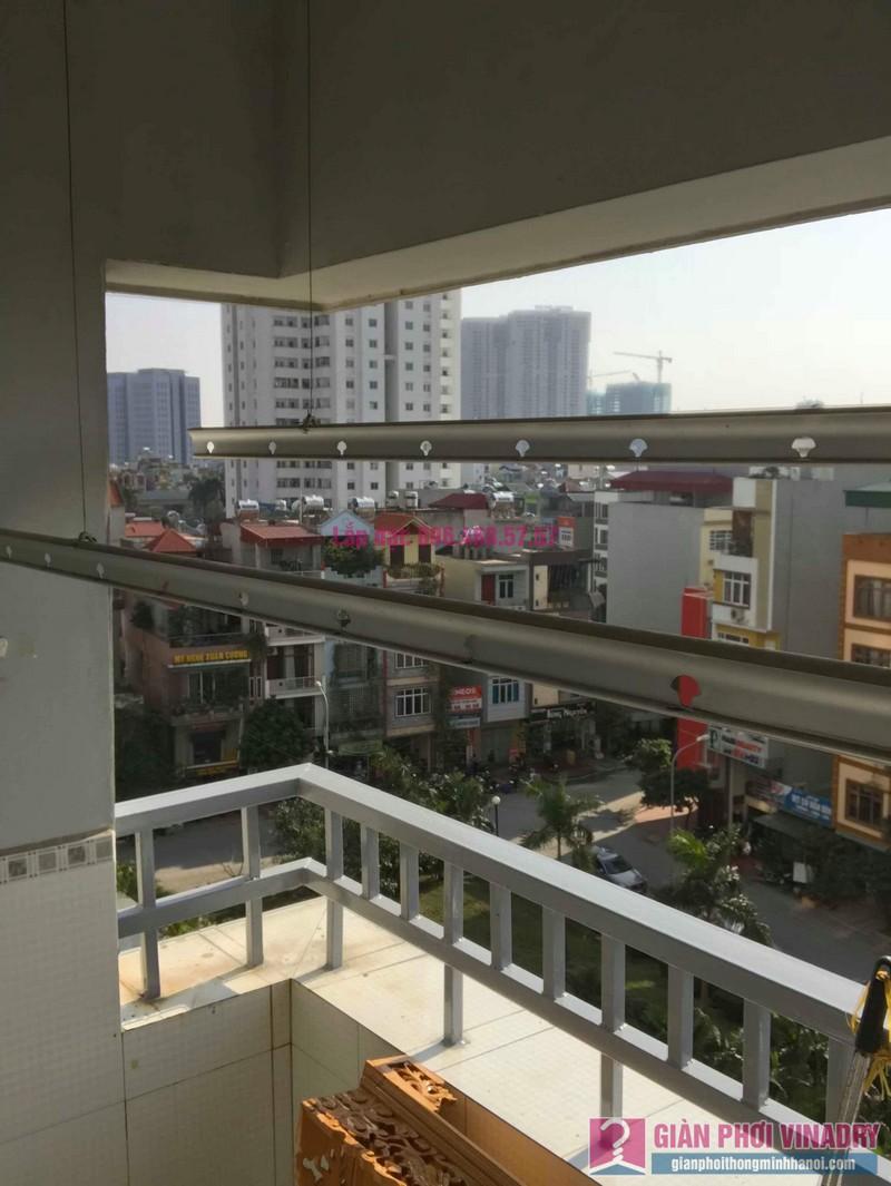Sửa giàn phơi thông minh nhà Chị Nhâm, chung cư CT2 Ngô Thì Nhậm, Hà Đông, Hà Nội - 04