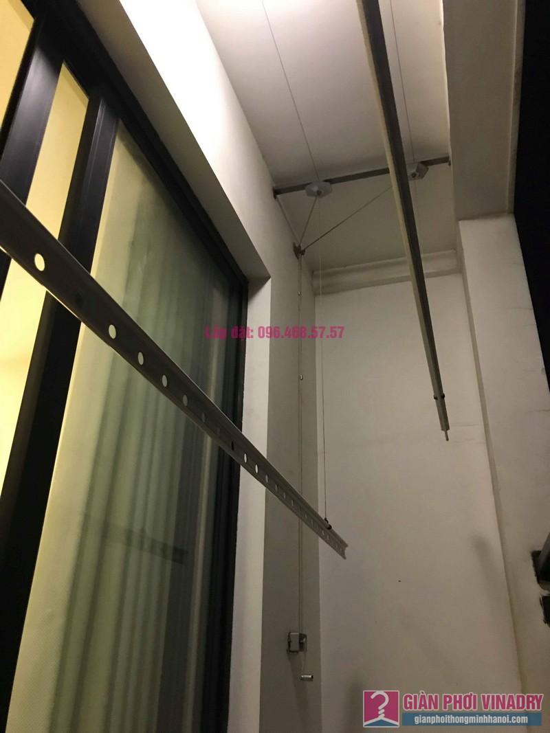 Thay dây cáp giàn phơi nhà chị Vy, tòa T9, Times City - 05